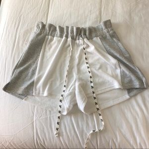 Juicy Couture Gray & White Shorts